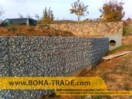 габион - забор из камня
