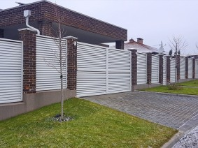 Забор жалюзи bonaFence в Новоалександровке