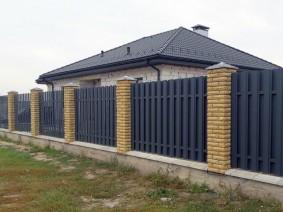2х-сторонний евроштакет, Киевская обл, Борисполь_1