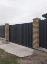2х-сторонний евроштакет, Киевская обл, Борисполь_2