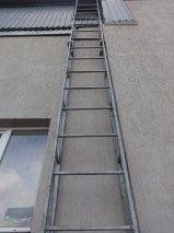 Фасадная лестница оцинкованная_2