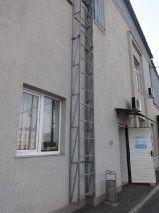 Фасадная лестница оцинкованная_3