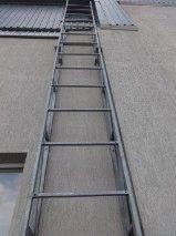 Фасадная лестница оцинкованная_4