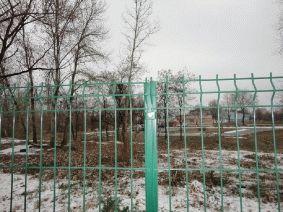 Панельный забор для АЗС