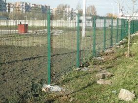 Ограждение АЗС металлическим забором