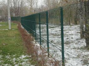 Забор для АЗС из сварной сетки