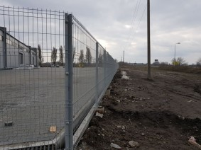 Забор из сетки цвет 7040