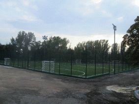 Спортивная площадка. 3 мини футбольных поля