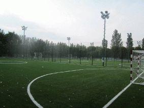 Ограждение 3 футбольных полей. Макеевка