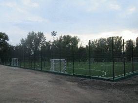 Заборы для футбольных полей