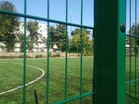 Ограждение школьного двора и спорт площадки_10