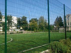 Ограждение школьного двора и спорт площадки_11