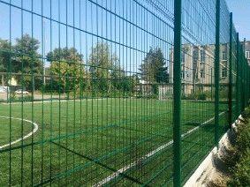 Ограждение школьного двора и спорт площадки_12