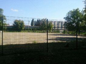 Ограждение школьного двора и спорт площадки_13