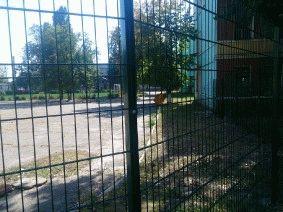Ограждение школьного двора и спорт площадки_15