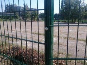 Ограждение школьного двора и спорт площадки_17