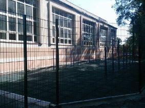 Ограждение школьного двора и спорт площадки_1