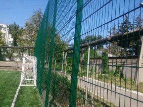 Ограждение школьного двора и спорт площадки_2