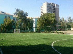 Ограждение школьного двора и спорт площадки_3