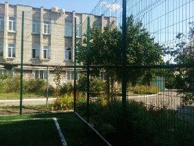 Ограждение школьного двора и спорт площадки_4