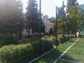 Ограждение школьного двора и спорт площадки_6