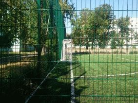 Ограждение школьного двора и спорт площадки_7
