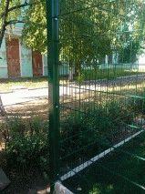 Ограждение школьного двора и спорт площадки_8