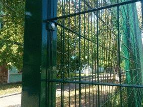 Ограждение школьного двора и спорт площадки_9
