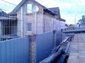 Комбинированный забор_1