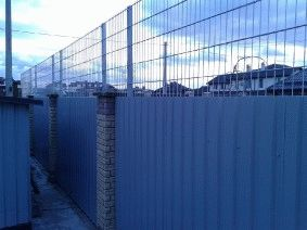 Комбинированный забор_5