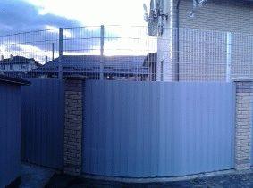 Комбинированный забор_8