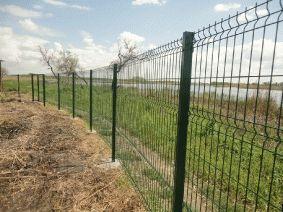 Забор для Дачи. Рубеж 5мм