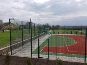 Угловое сопряжение спортивная площадка