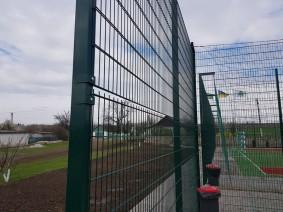 Забор высота 4,0 м сопряжение 2 секций