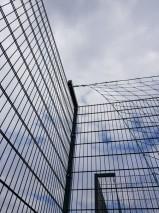 Ограждение высотой 4 м с г образными наконечниками