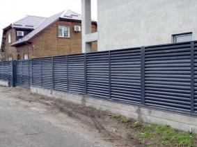 Забор Жалюзи ,Киев, Русановские Сады