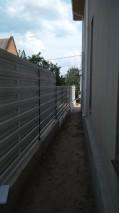 Металлоштакет забор горизонт