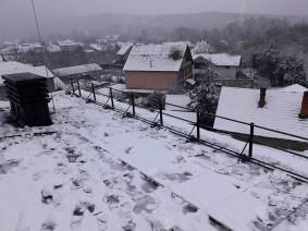 Ограждение для крыши с трубчатым снегозадержателем