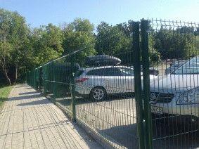 Ограждение парковки Киев_1