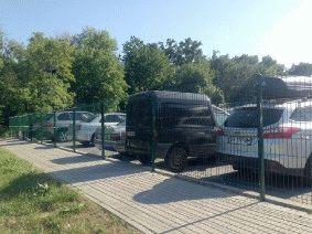 Ограждение парковки Киев_3