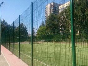 Забор для футбольного поля из металла_4