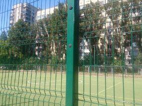 Забор для футбольного поля из металла_6