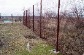Ограждение из цельносварных секций высотой 3м! г. Запорожье_8