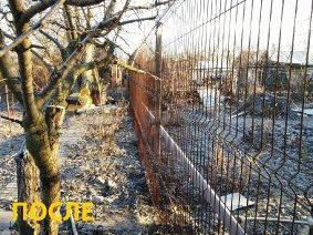 Забор частный сектор, Днепропетровск (Левобережный)_3