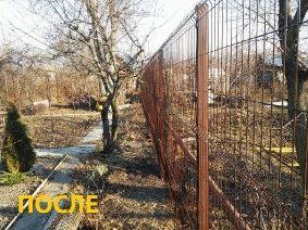 Забор частный сектор, Днепропетровск (Левобережный)_6
