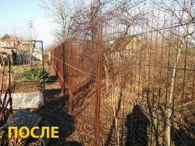 Забор частный сектор, Днепропетровск (Левобережный)_8