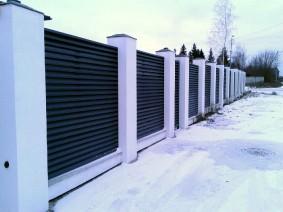 Забор Жалюзи производства Украина