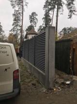 забор Жалюзи г.Ворзель