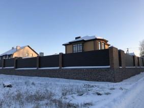 Заборы для коттеджей и загородных домов