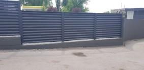 Жалюзи в порошковом покрытии забор